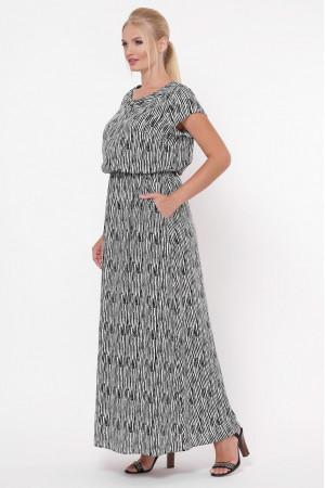 Платье «Влада» принт зебра