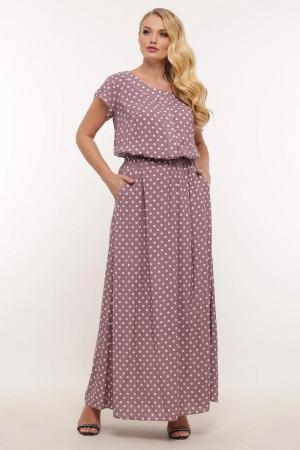 Платье «Влада» лилового цвета