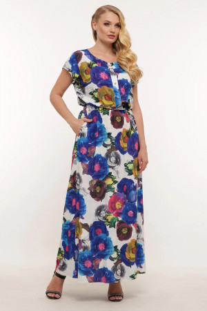 Платье «Влада» с цветами