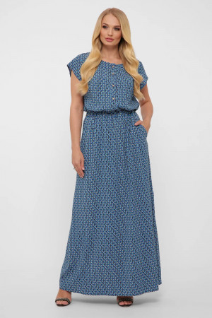 Платье «Влада» голубого цвета