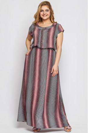 Сукня «Влада» з принтом-голограма