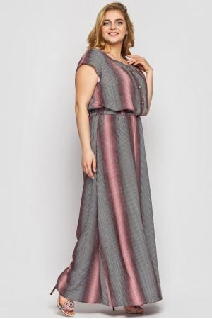 Платье «Влада» с принтом-голограмма