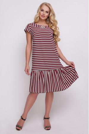Платье «Яна» красного цвета