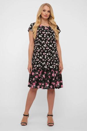 Платье «Яна» с цветочным принтом