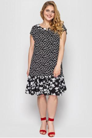 Сукня «Яна» чорно-білого кольору