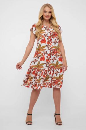 Платье «Яна» белого цвета