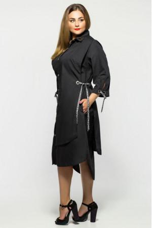 Платье «Евгения» черного цвета