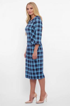 Платье «Мэри» голубого цвета