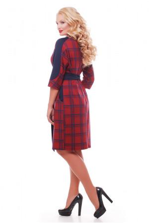Платье «Кэтлин» в красную клетку