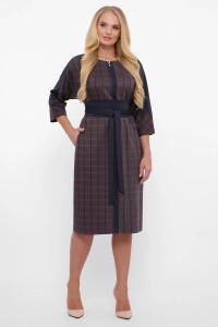 Платье «Кэтлин» серого цвета