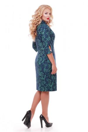 Сукня «Ліра» смарагдового кольору