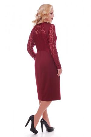 Сукня «Аделіна» кольору марсала