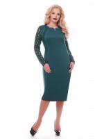 Сукня «Аделіна» смарагдового кольору