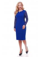 Платье «Аделина» цвета электрик