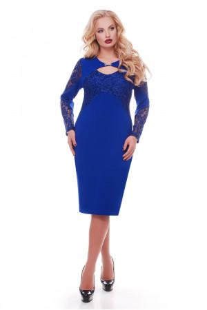 Платье «Шерилин» цвета электрик