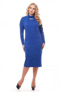 Платье «Алиса» цвета электрик