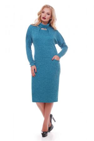 Сукня «Аліса» бірюзового кольору