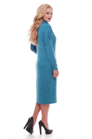 Платье «Алиса» бирюзового цвета