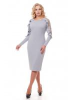 Сукня «Раміна» перлинного кольору