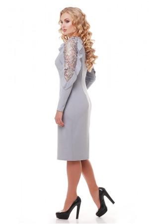 Платье «Рамина» жемчужного цвета