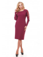 Сукня «Раміна» колір марсала