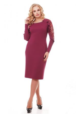 Платье «Рамина» цвет марсала