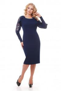 Сукня «Раміна» темно-синього кольору