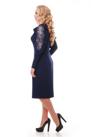 Платье «Рамина» темно-синего цвета