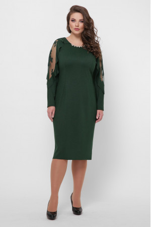 Платье «Рамина» изумрудного цвета