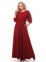 Сукня «Вів'єн» бордового кольору