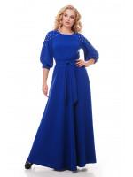 Платье «Вивьен» цвета электрик