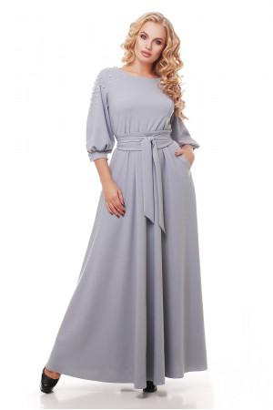 Платье «Вивьен» жемчужного цвета