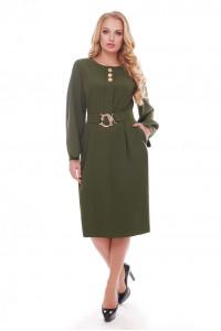 Сукня «Катерина» оливкового кольору