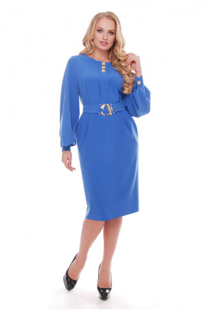 Сукня «Катерина» волошкового кольору