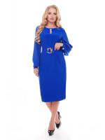 Платье «Екатерина» цвета электрик