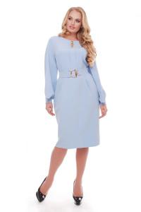 Платье «Екатерина» голубого цвета