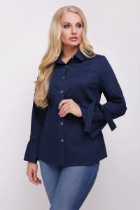 Блуза «Агата» синього кольору