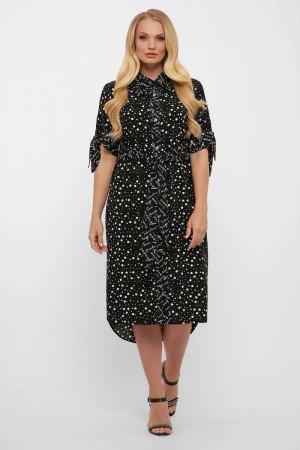 Сукня «Єва» з принтом-горох