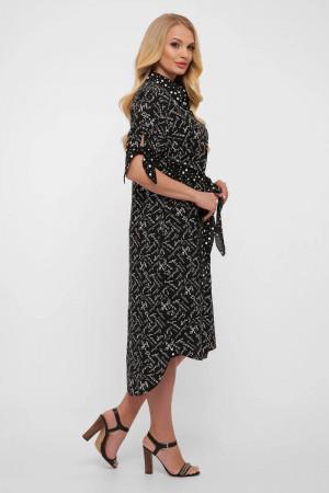 Платье «Ева» черного цвета