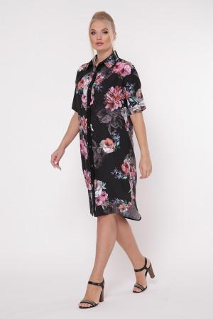 Сукня-сорочка «Саті» принт джорджія