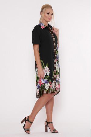 Сукня-сорочка «Саті» чорного кольору