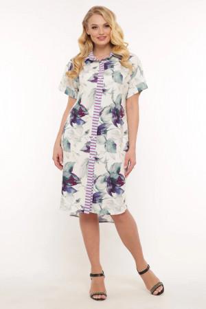 Сукня-сорочка «Саті» ментолового кольору