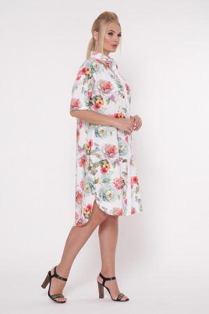Сукня-сорочка «Саті» білого кольору