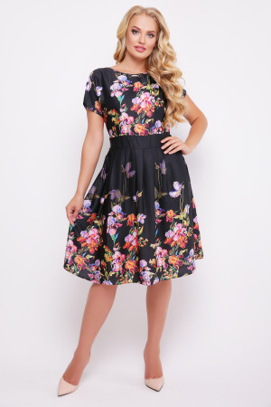 """Сукня """"Лорен"""" чорного кольору"""
