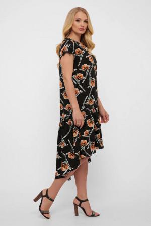 Платье «Герда» черного цвета