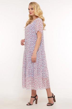 Платье «Катаисс» голубого цвета