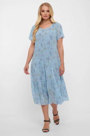 Сукня «Катаїсс» небесного кольору
