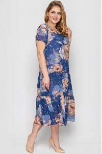 Платье «Катаисс» цвета деним