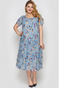 Платье «Катаисс» с принтом-лето