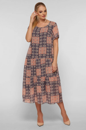 Сукня «Катаїсс» кольору пудри